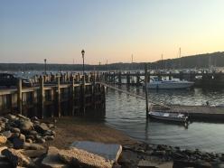 Summer in Northport near harbor