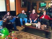 Christmas Eve Party at East Northport lounge 2017