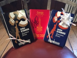 Signed John Starks Cigar Boxes in Northport Shop