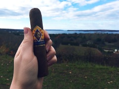 Traveling CAO cigar on Ocean Ave overlooking Northport